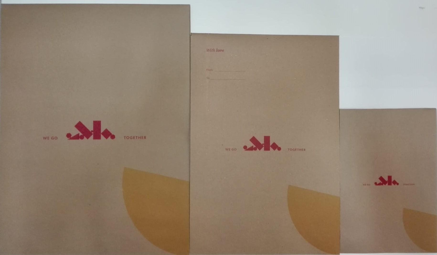 Envelope Embrulho PEQ 170X50X250
